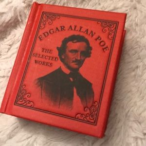 Edgar Allan Poe mini book